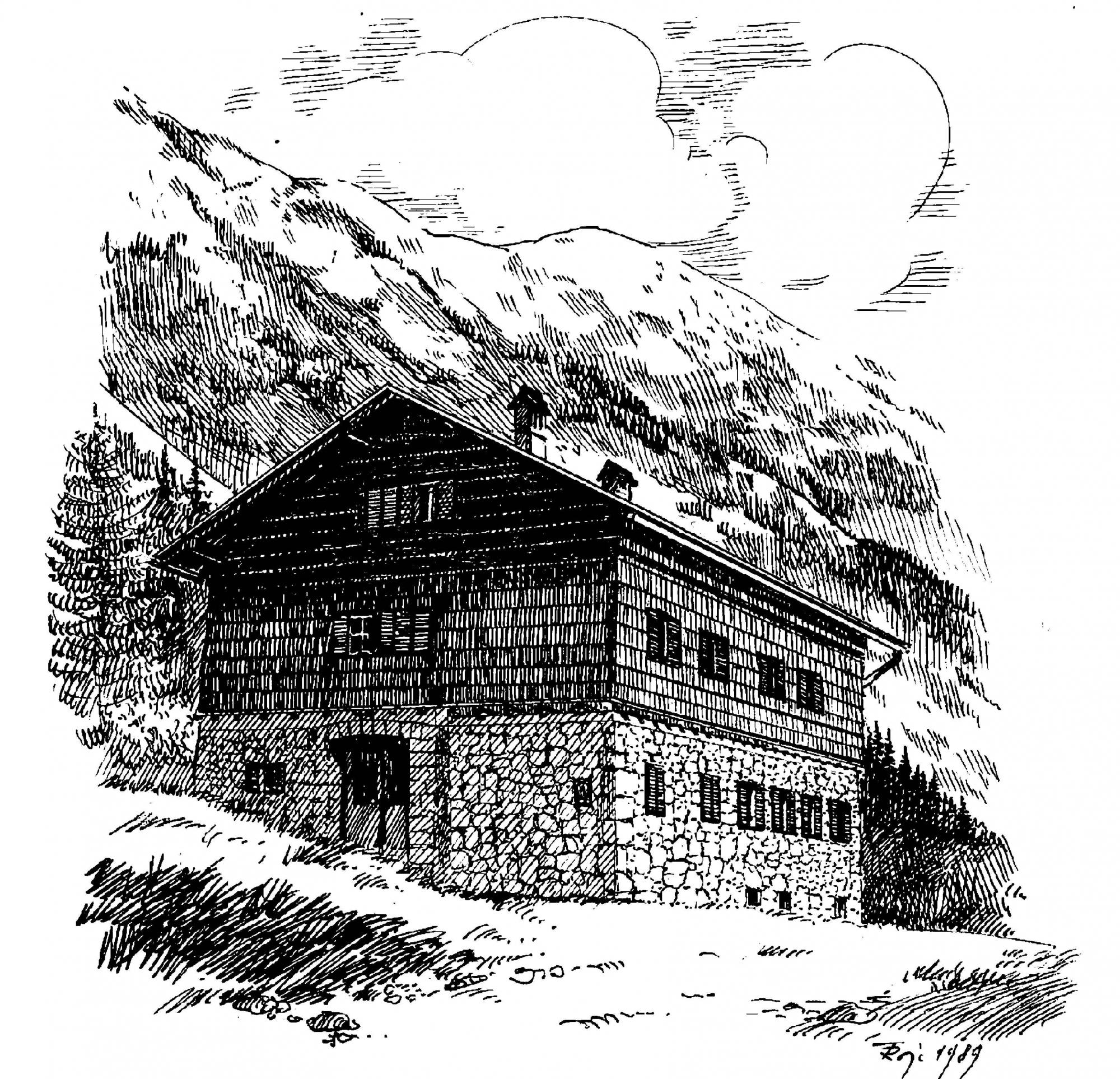 Valvasorjev dom pod Stolom